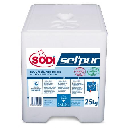Bloc à lécher de sel pur 25kg