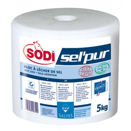 Bloc à lécher de sel pur 5kg