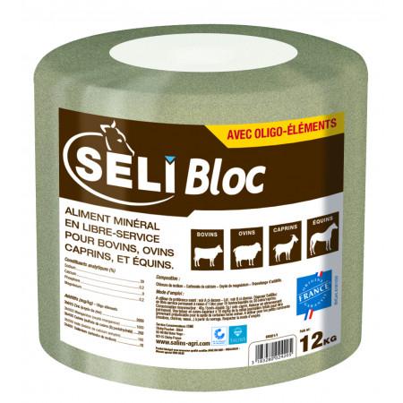 Bloc à lécher de sel SELIBLOC 12kg