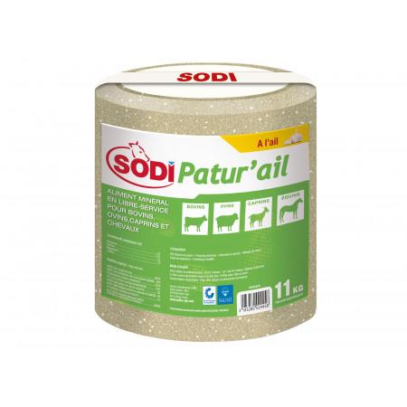 Bloc à lécher de sel SODIPATUR'AIL 11kg