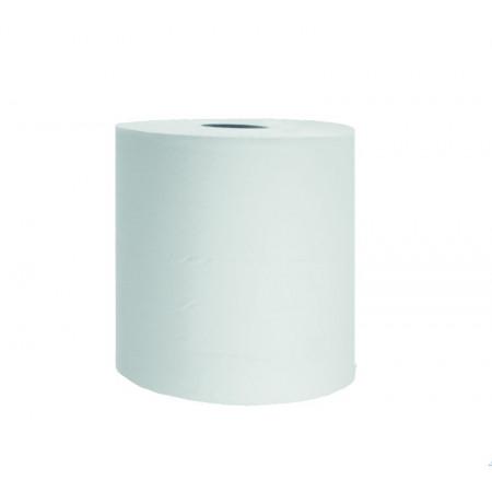 Bobine d'essuyage blanche 21x30cm x2