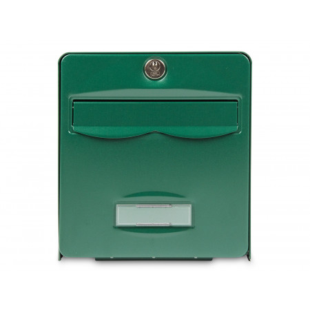 Boite aux lettres Balthazar 2 portes vert
