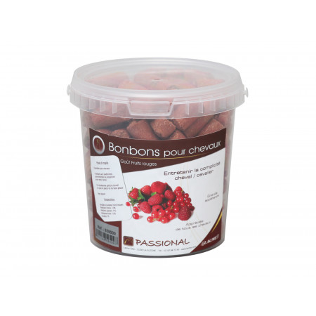 Bonbons fruits rouges 750 g
