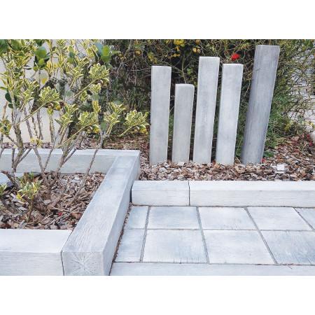 Bordure poutre pierre reconstituée de Bourgogne 45x10x10cm