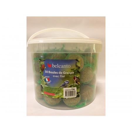 Boules de graisse avec filet Belcanto 50x90g
