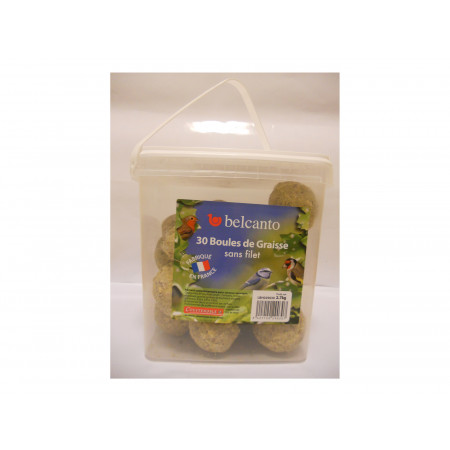 Boules de graisse Belcanto 30x90g