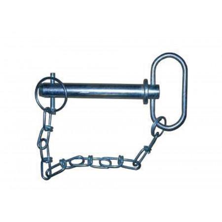 Broche a poignée et chainette 25x159