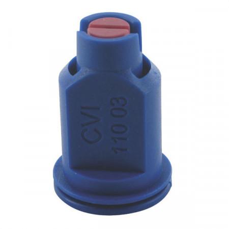 Buse à aspiration d'air CVI 110° Ø 8 mm bleu céramique