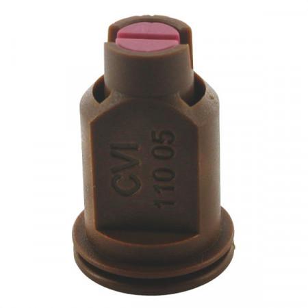 Buse à aspiration d'air CVI 110° Ø 8 mm brun céramique