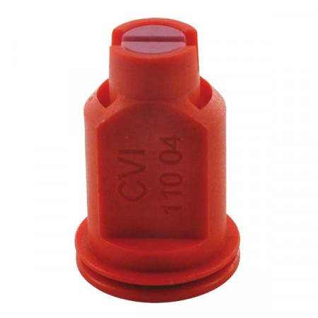 Buse à aspiration d'air CVI 110° Ø 8 mm rouge céramique