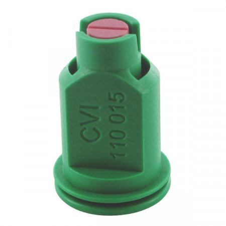 Buse à aspiration d'air CVI 110° Ø 8 mm vert céramique