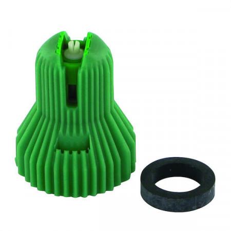 Buse à injection d'air ADX 120° 15 vert céramique Nozal