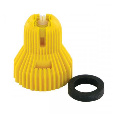 Buse à injection d'air ADX 120° 2 jaune céramique Nozal
