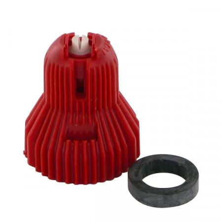 Buse à injection d'air ADX 120° 4 rouge céramique Nozal