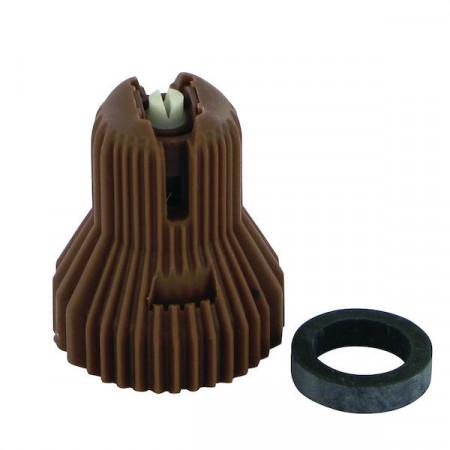 Buse à injection d'air ADX 120° 5 brun céramique Nozal