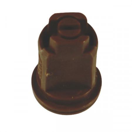 Buse à injection d'air AIXR 110° Ø 8 mm brun plastique