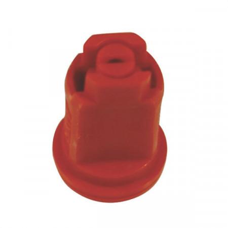 Buse à injection d'air AIXR 110° Ø 8 mm rouge plastique