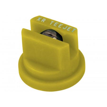 Buse à jet plat XR inox Teejet jaune
