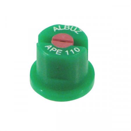 Buse à pinceau APE 110° Ø 11 mm vert céramique