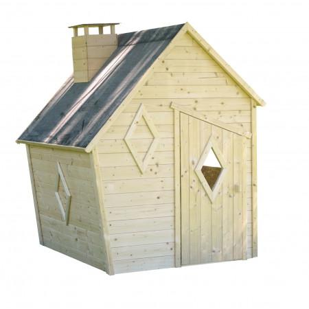 Cabane en bois pour enfant Wanda
