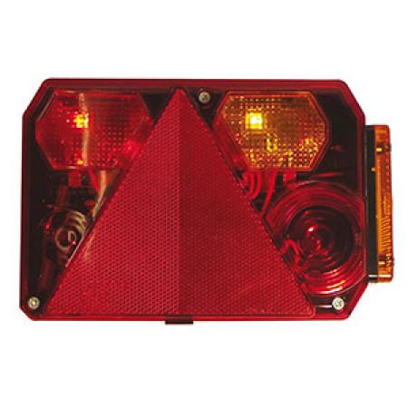 Cabochon droit pour feu RADEX 6400