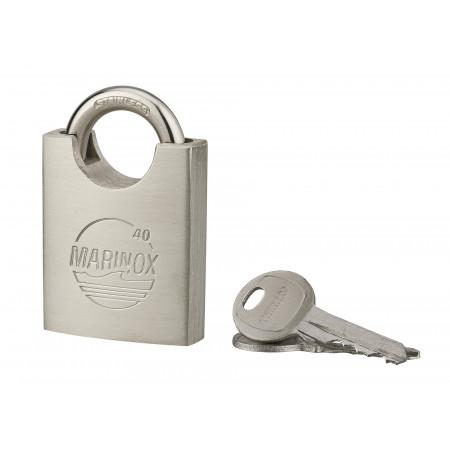 Cadenas à clé Marinox 40mm à anse Inox