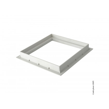 Cadre pour grille / tampon 200X200 Gris