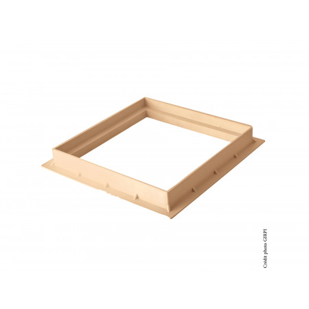 Cadre pour grille / tampon 200X200 Sable