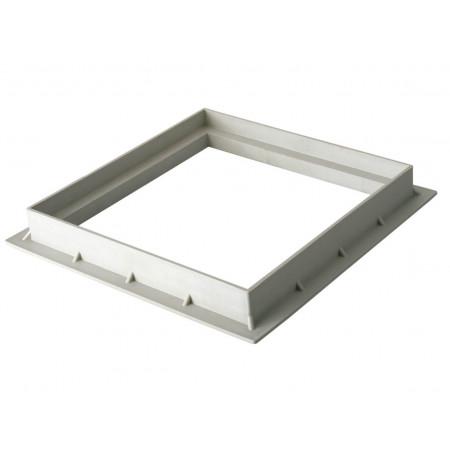 Cadre pour grille / tampon 300X300 Gris