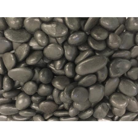 Galet noir poli 10/30 25kg