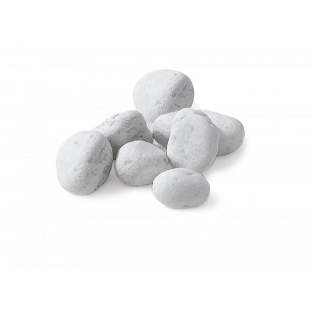 Galet roulé marbre blanc de Carrare 40/60 25kg