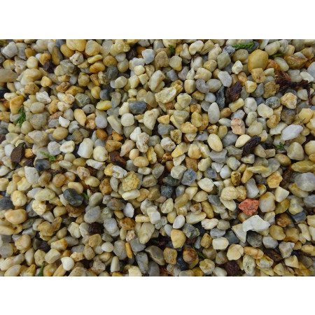 Graviers multicolores 10/16 25kg