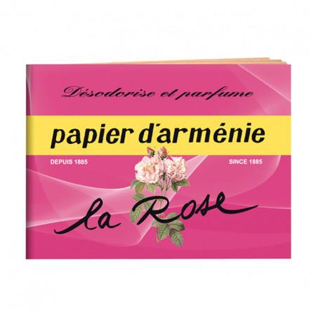Carnet La Rose PAPIER D'ARMÉNIE