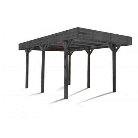 Carport bois Louison 15,75m²