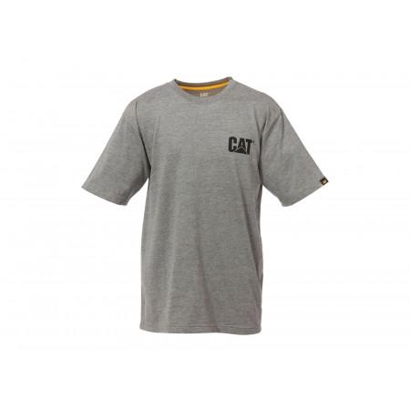 T-shirt CATERPILLAR Trademark gris