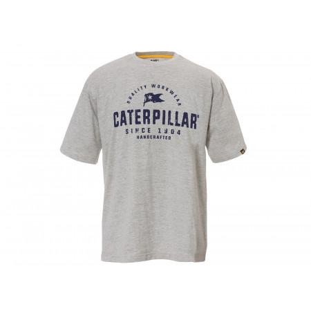 T-shirt Handcrafted CATERPILLAR Gris