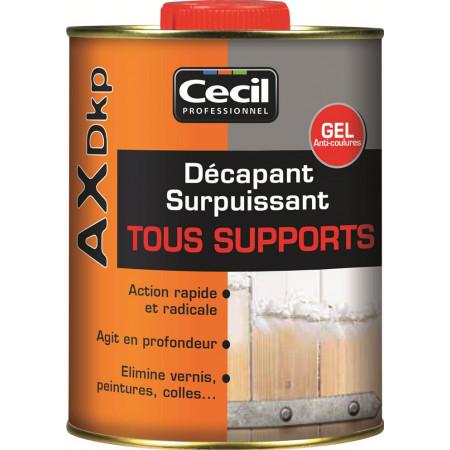 Décapant gel tous supports AX DKP 1L