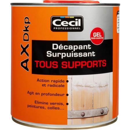 Décapant gel tous supports AX DKP 2,5L