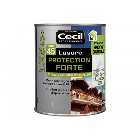 Lasure bois Cecilpro LX545 Blanc Alpes 1L