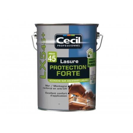 Lasure bois Cecilpro LX545 Blanc Alpes 5L