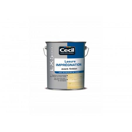 Lasure d'imprégnation LX500 Chêne clair 3L