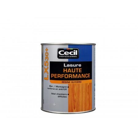 Lasure de finition LX530+ Chêne doré 1L