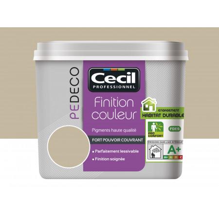 Peinture finition PE DECO mat Argile 2,5L