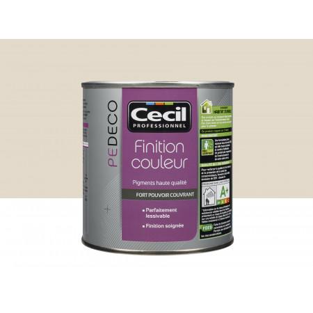 Peinture finition PE DECO mat Kaolin 0,5L