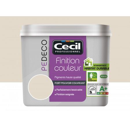 Peinture finition PE DECO mat Kaolin 2,5L