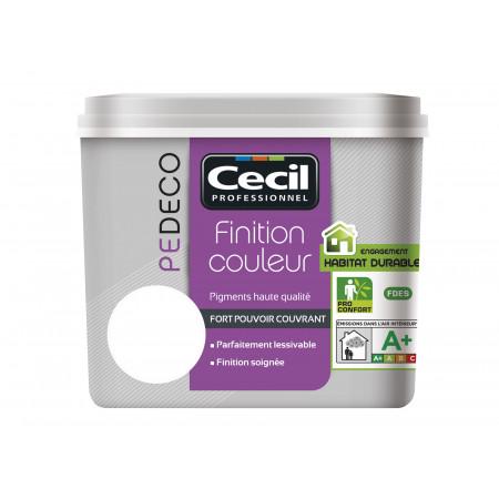 Peinture finition PE DECO satin Blanc 2,5L