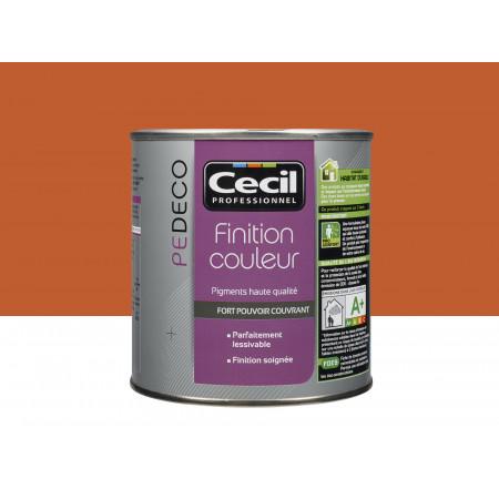 Peinture finition PE DECO satin Capucine 0,5L