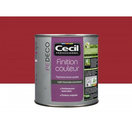 Peinture finition PE DECO satin Cerise Exquise 0,5L