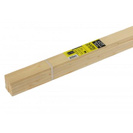 Barre écharpe sapin L2,40m x 28/70