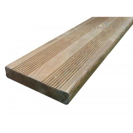 Lame de terrasse bois 420x14,5cm